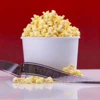 movie popcorn photo